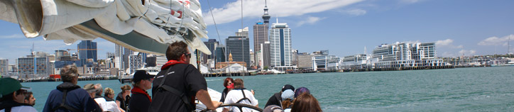 Sit back and relax, Auckland Harbour. Image: Tourism Auckland