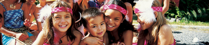 Maori children. Image: Tourism New Zealand