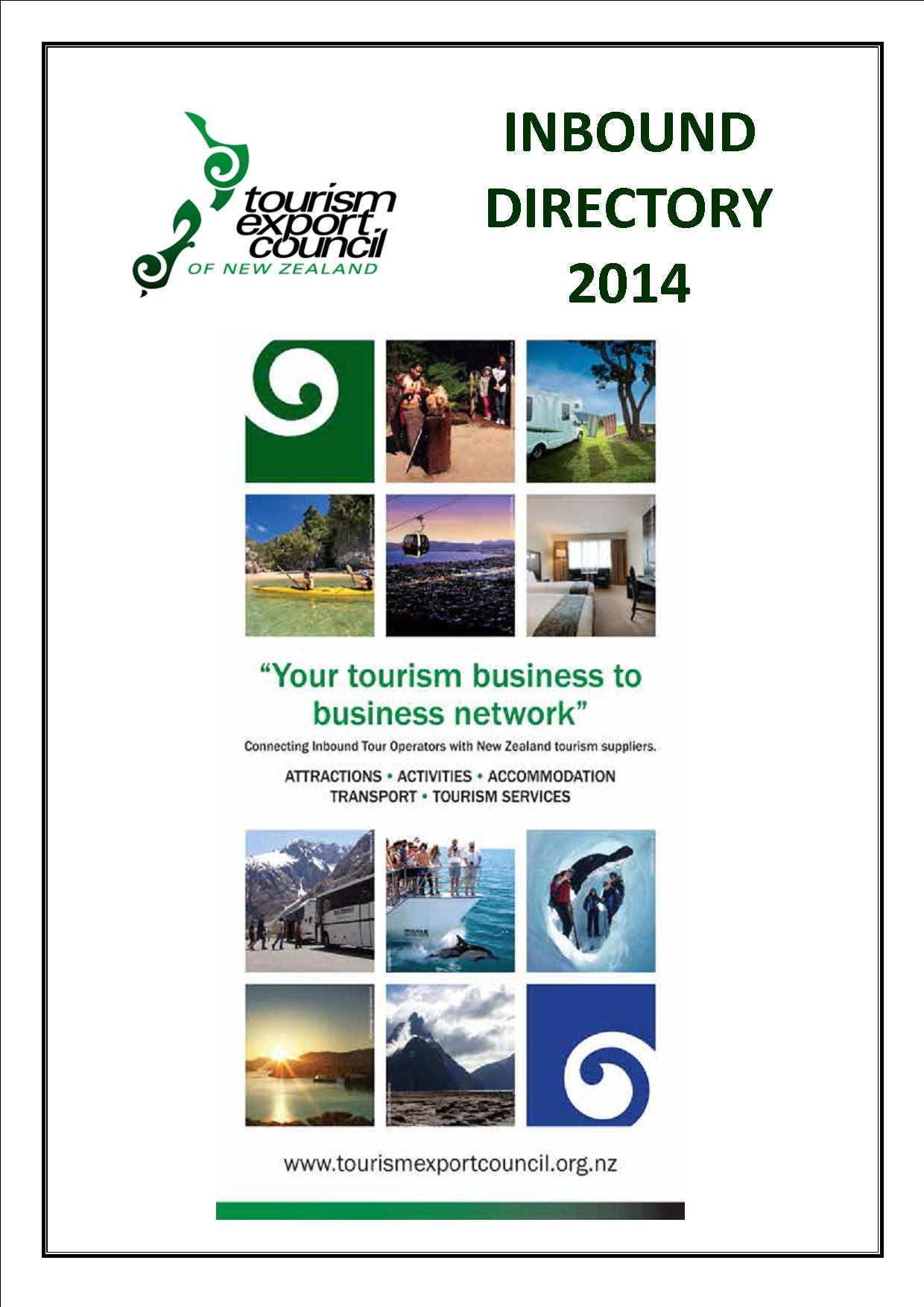Inbound Directory cover 2014 2